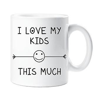 أحب أطفالي هذا القدح الكثير
