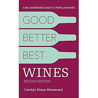 Good, Better, Best Wines, 2e: A No-Nonsense Guide to� Popular Wines