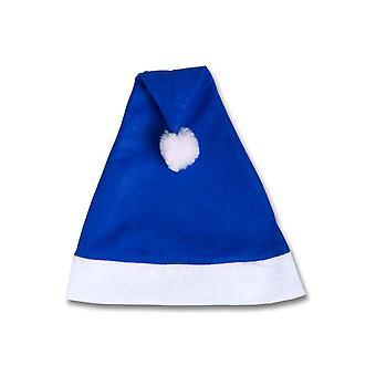 Hoeden Blue Christmas hat