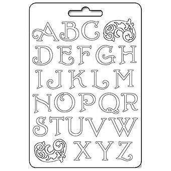 Stamperia Soft Maxi Mould - Alphabet