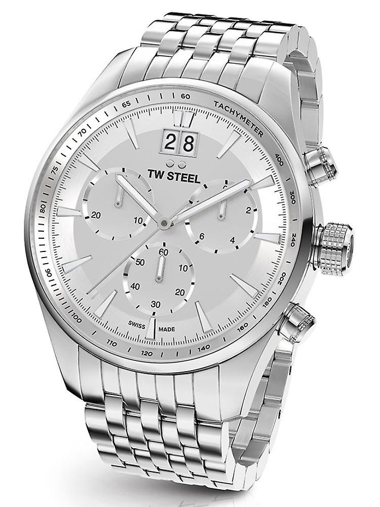 TW Steel Ace312 ancient Aternus Swiss Made chronograph mens watch 45 mm