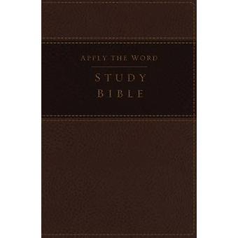 NKJV - Apply the Word Study Bible - Large Print - Imitation Leather -