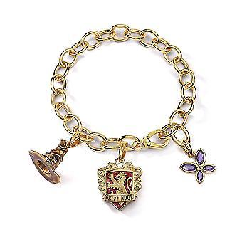 Harry Potter Lumos Gryffindor Charm Bracelet