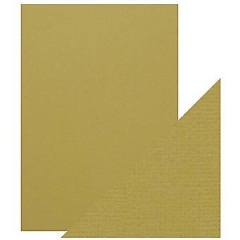 Craft Perfect von Tonic Studios A4 Classic Card Olive Green | Pack von 5