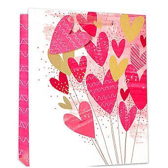 Simon Elvin Love Heart Foil Gifts Bags