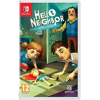 Ciao vicino Nascondi e cercare Nintendo switch gioco