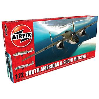 Airfix A06015 Andere Noord-Amerikaanse B25C/D Mitchell 1:72 Model Kit