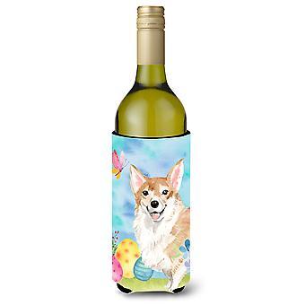 Corgi garrafa de vinho de Páscoa Beverge isolador hugger