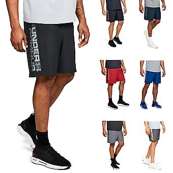 Under Armour Mens 2019 Woven Graphic Wordmark Shorts
