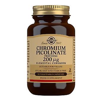Solgar Chromium Picolinate 200ug Vegicaps 90 (866)