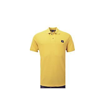 Paul & Shark Paul And Shark Plain Polo Shirt Yellow