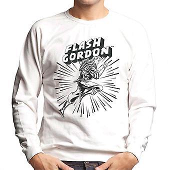 Flash Gordon Action Leap Men's Sweatshirt