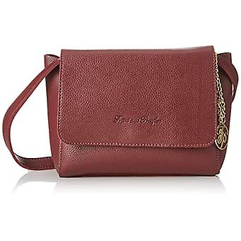 Fritzi aus Preussen JUSTINE Women's Red shoulder bag (Dark Merlot 251/Doubleface)) 8x19x28 cm (B x H x T)