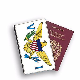 VIRGIN ISLANDS OF THE UNITED STATES Flagge Pass Halter Stil Fall Fall Abdeckung SchützenBrief Flaggen Design
