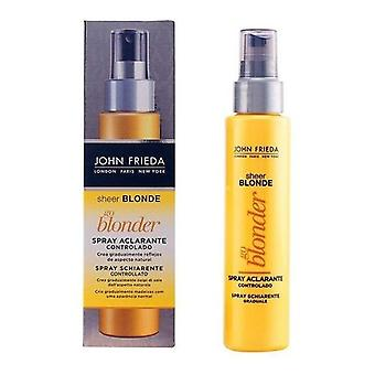Spray clarifying for John Frieda's Sheer Blonde blondes