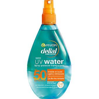 Delial Uv Water Spray Protector Transparente Spf50 150 Ml Unisex