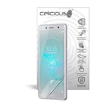Celicious Matte Anti-Glare Screen Protector Film Compatible with Sony Xperia XZ2 Compact [Pack of 2]