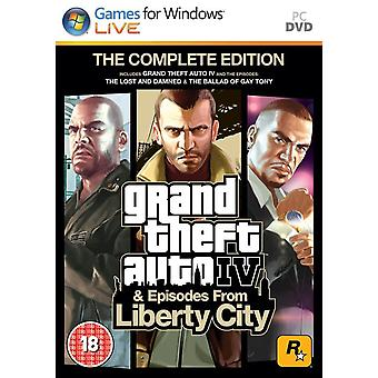 Grand Theft Auto IV Complete Edition PC DVD