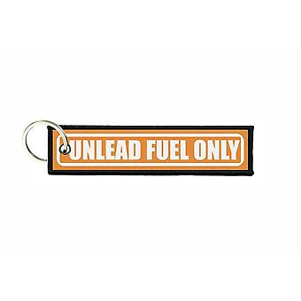 Puerta cles llavero de aviación combustible de coche unlead combustible sólo r3