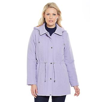 Amber Ladies Embroidered Microfibre Jacket