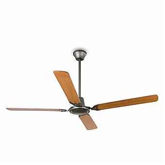 Faro - Malvinas Large Dark Grey Ceiling Fan Without Light FARO33110