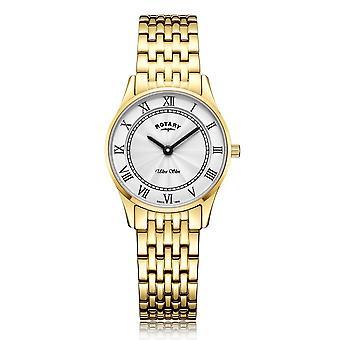 Rotary LB08303-01 Women's Ultraslim Wristwatch