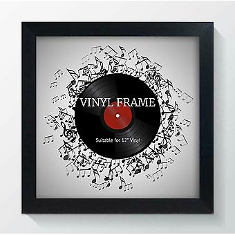 "721 Frame 12"" LP Vinyl Record Album Wide Square Memorabilia Wall Art Display"