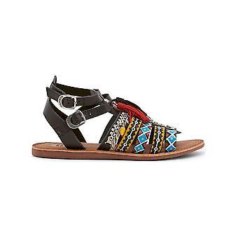 Gioseppo-schoenen-sandaal-FEDRA_40515_NERO-dames-zwart, geel-38