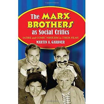 Bracia Marx, jak Marksiści: satyra i komiks nihilizm w filmach