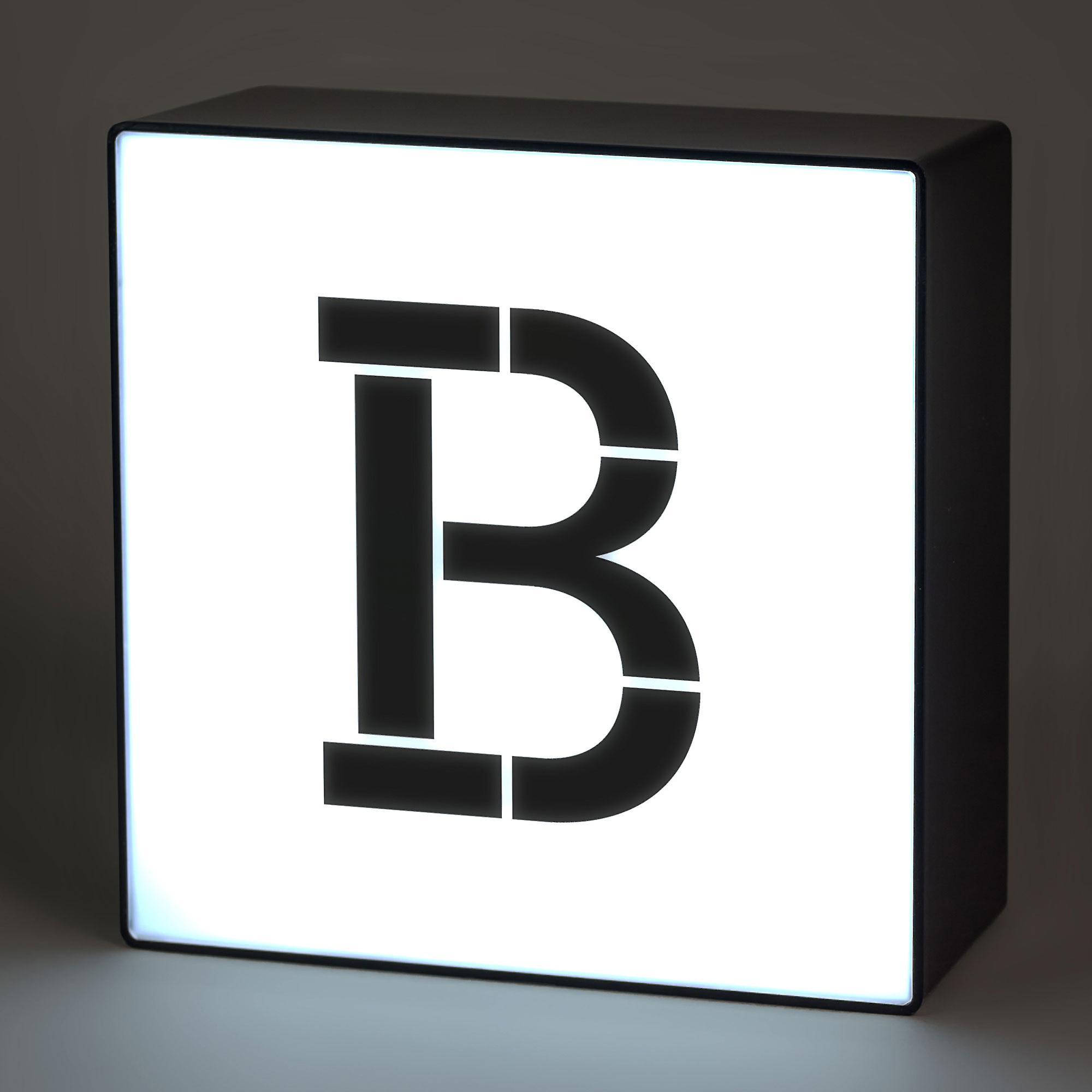 B Alphabet Lightbox