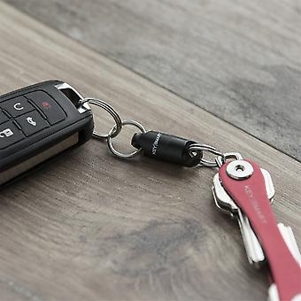 Keysmart MagConnect Magnetic Keychain - Black