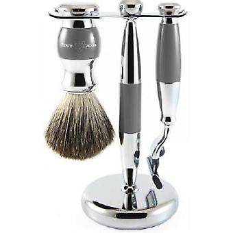 Grå barbering sett 3 PI disse-MACH3