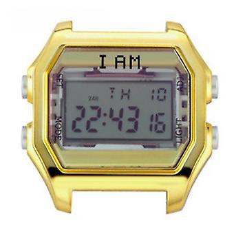 Watch I Am The Watch IAM-004 - Bo tier Aspect M tal dor Silver Buttons / Horn 18 mm Ecart