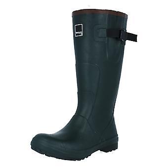 Ladies Toggi Neoprene Lined Rubber Waterproof Wellingtons Lady Wanderer Plus
