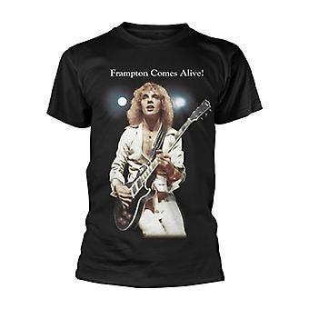 Frampton vaknar till liv Peter Frampton rock officiella T-shirt