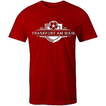 Eintracht Frankfurt 1899 gevestigde badge voetbal T-shirt