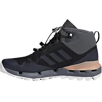 adidas Performance Womens Terrex Fast Mid GTX Surround Vandrestøvler - Sort/Pink