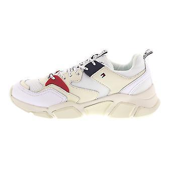 טומי הילפיגר בילי FW0FW04065100WHITE אוניברסלי כל השנה נשים נעליים