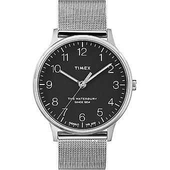 Timex The Waterbury Stainless Steel Mesh Mens Watch TW2R89300