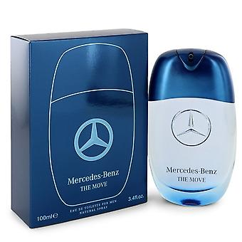 Mercedes Benz de verhuizing door Mercedes Benz Eau de Toilette Spray 3,4 oz/100 ml (mannen)