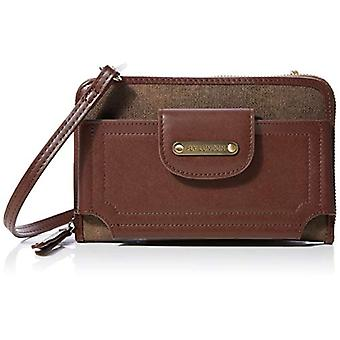 Fly LondonPase663fly Woman Shoulder bagBrown (Brown/Forest Green)5x12x20 centimeters (W x H x L)