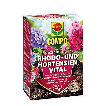COMPO Rhodo- und Hydrensia Vital, 1 kg