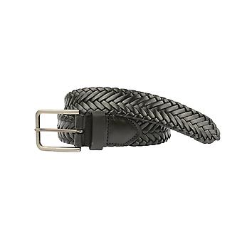 Wilskin Braided Belt Noir