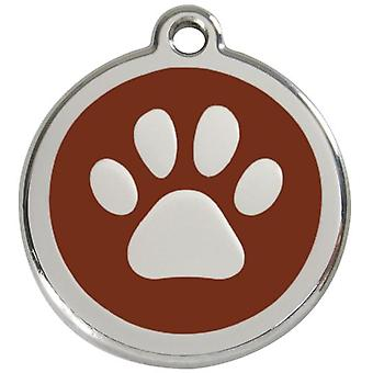 Red Dingo Red Dingo Paw Medal 20mm (Dogs , Collars, Leads and Harnesses , Accessories)
