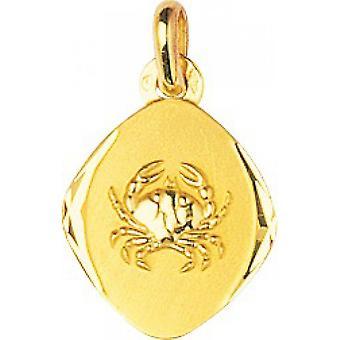 M Daille Krebs gold 750/1000 gelb (18K)