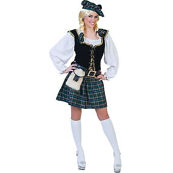 Scottish Girl Adult Costume