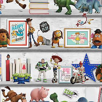 Disney Toy Story 4 Play Date Wallpaper Multi Graham and Brown 105828