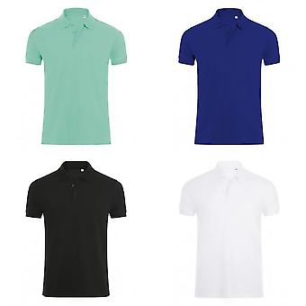 SOLS Mens Phoenix Short Sleeve Pique Polo Shirt