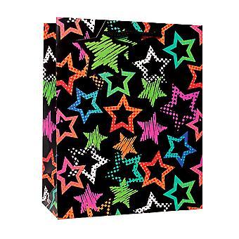 Simon Elvin Contemporary Stars Gift Bags (Pack Of 6)