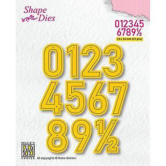 نيلي & أبوس؛ s اختيار الشكل يموت - أرقام كبيرة SD177 16x24mm